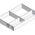 ORGA-LINE to elastyczny system podziału wewnętrznego szuflad. Pozwala optymalnie wykorzystać przestrzeń i zachować porządek. Składa się z przegródek...
