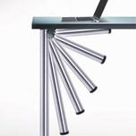 Składana noga ALU CLICK do blatów stołowych o najwyższej jakości wykonania. Rewolucyjny,opatentowany system składania zapewnia stabilność stołu...