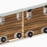 System ARES 2 do 2 sztuk drzwiprzesuwnychw szafach i zabudowach wnęk. Ciężar drzwi do 70 kg. Grubość drzwi od 16 mm. Długość prowadnicy...
