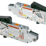 Siłowniki 20S2E00.05 z białymi zaślepkami 20S8000 i podnośnikami 20S3500.05 to elementy systemu AVENTOS HS. Zestaw siłownika do AVENTOS...