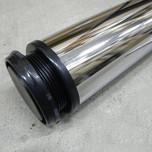 Metalowa noga meblowaNOVAAN-1100 w kolorze chrom połysk.  Wysokość 110cm Posiada regulację wysokości +2cm Średnica nogi 60mm. Wyrób...