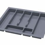 UNI wkład do szuflady 60 wykonany z trwałego i estetycznego tworzywa w kolorze metalicznym o gładkiej fakturze. Pozwala optymalnie wykorzystać przestrzeń...