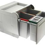 Sortownik na śmieci ELLETIPI oznaczony kodem PTA5045B to największy model w serii CITY.  Posiada CZTERY KUBŁY: dwa o pojemności 8 litrów i dwa o...