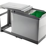 Sortownik na śmieci PAL605/1 10l + 16l  Wykonany z chromowanej stali oraz tworzywa.  Podwójny sortownik na śmieci będzie doskonałym rozwiązaniem do...