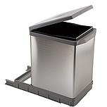 Sortownik na śmieciPAL609/ALL Wykonany z tworzywa oraz aluminium. Montowany do dna szafki. Pokrywa podnoszona automatycznie. Pojemność 17l. ...
