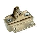 Mocowanie frontu wykonanego z wąskiej ramki aluminiowej -do AVENTOS HK-XS. 1szt Materiał: cynk  Uwaga: Mocowanie sprzedawane bez wkrętów....