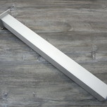 Noga metalowa kwadratowa w kolorze aluminium z możliwością regulacji wysokości (ok. 2cm). Wymiary 60x60 mm. Wysokość 1100 mm. Wyrób umożliwiający...