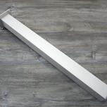 Noga metalowa kwadratowa w kolorze aluminium z możliwością regulacji wysokości (ok. 2cm). Wymiary 60x60 mm. Wysokość 820 mm. Wyrób umożliwiający...